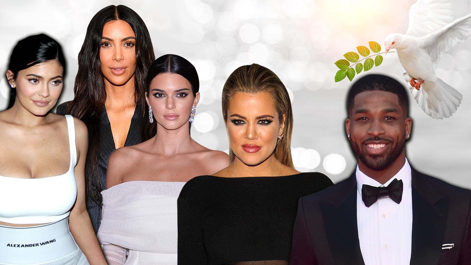 Las Kardashian sellan la paz con Tristan Thompson; ahora anticipan el golpe de un ex de Khloé