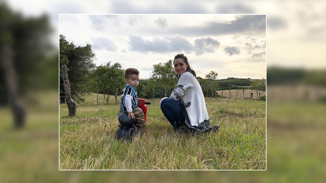 Ariadne Díaz y Marcus d'Ornellas se llevaron a Diego hasta Brasil