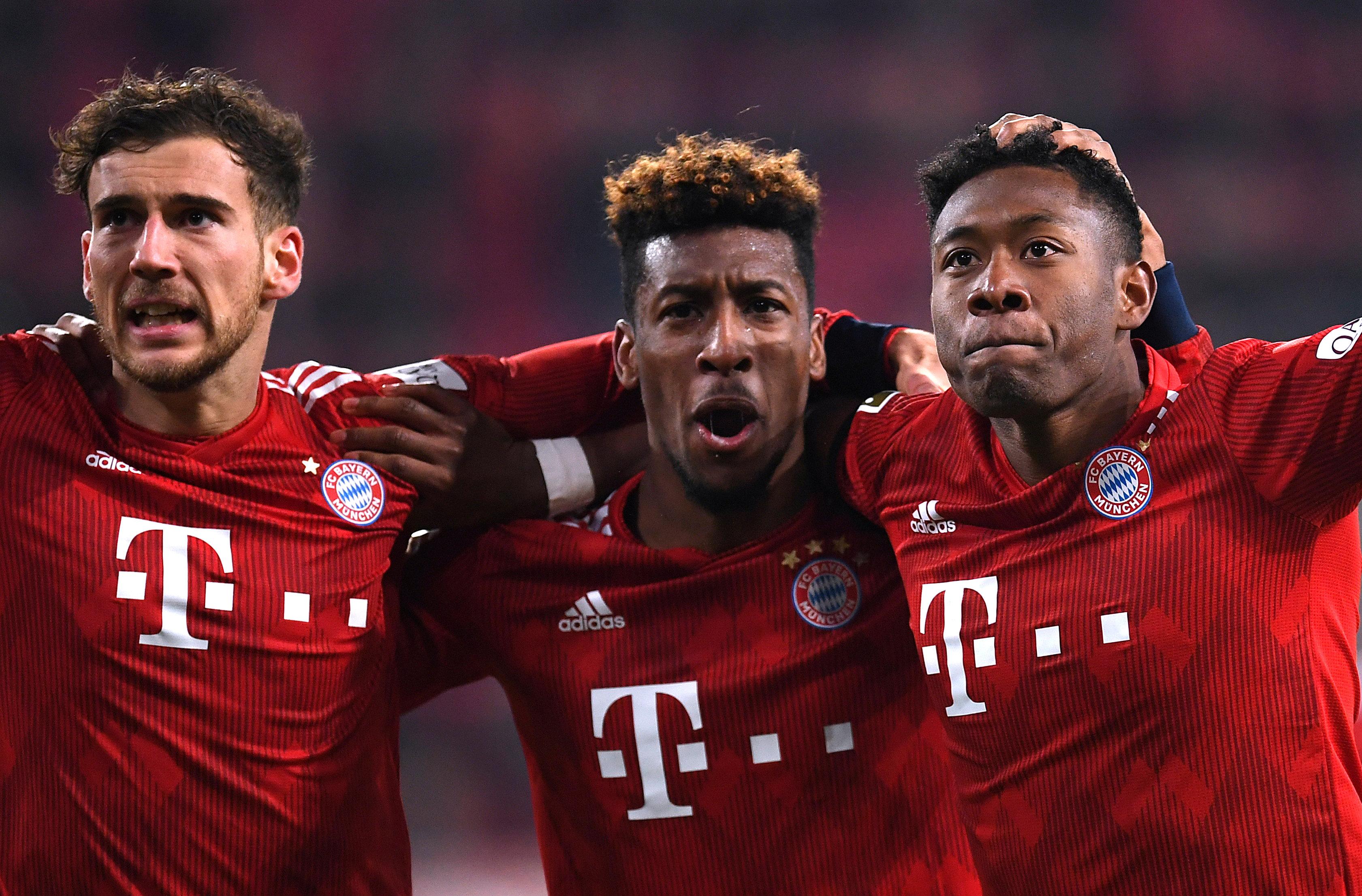 En fotos: Bayern Múnich logra la voltereta ante Augsburg y queda a dos puntos del Dortmund