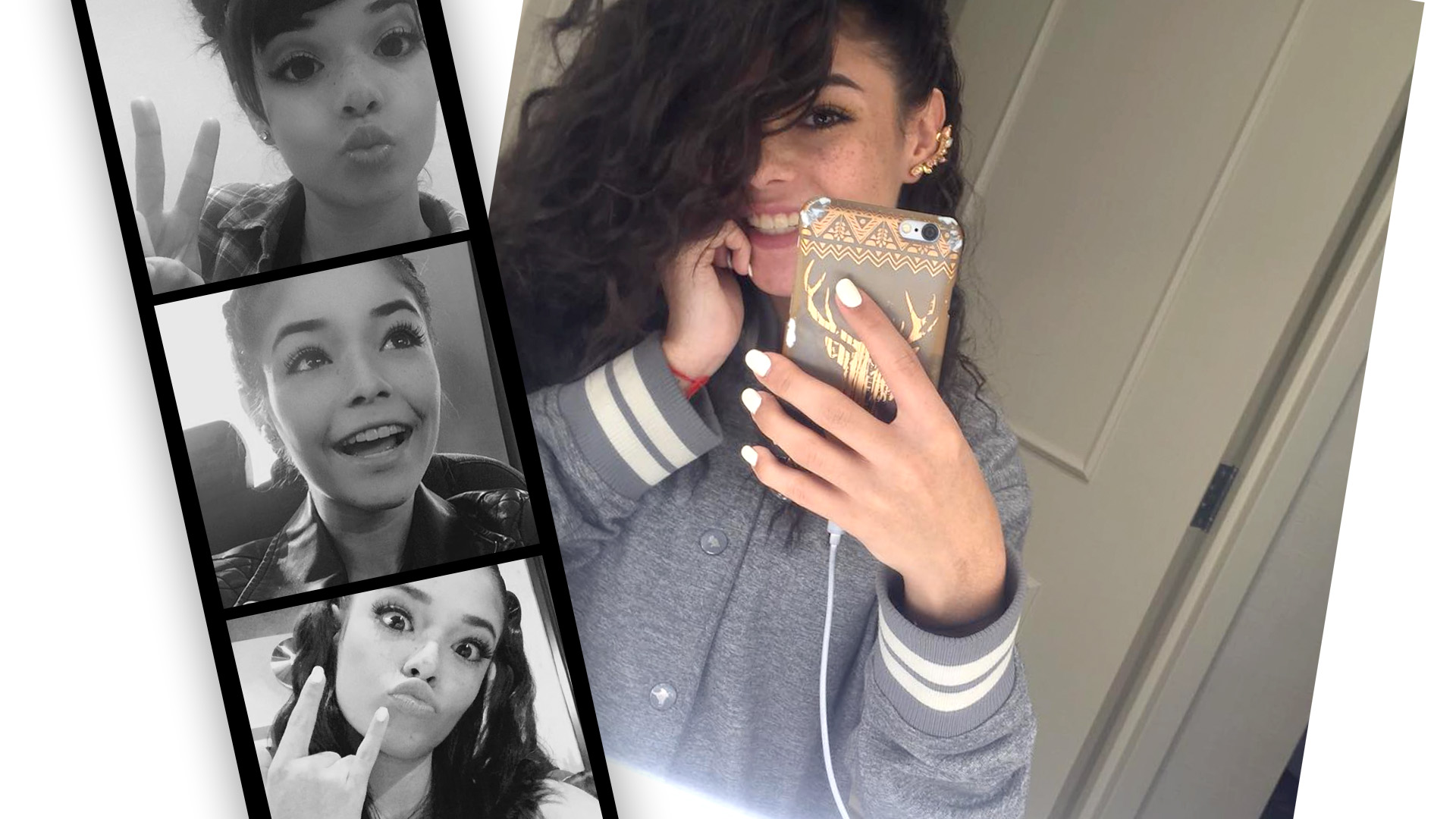Taishmara, la sweet girl de MIX5, adora las selfies