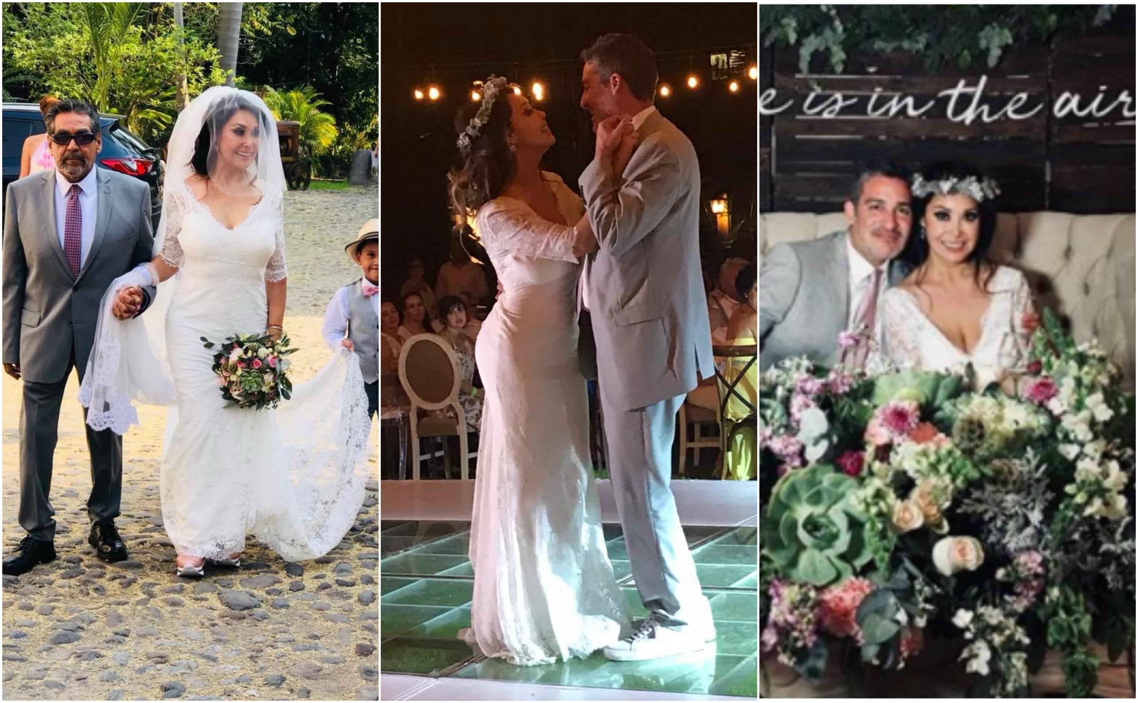 En fotos: la romántica y divertida boda de la reportera Addis Tuñón