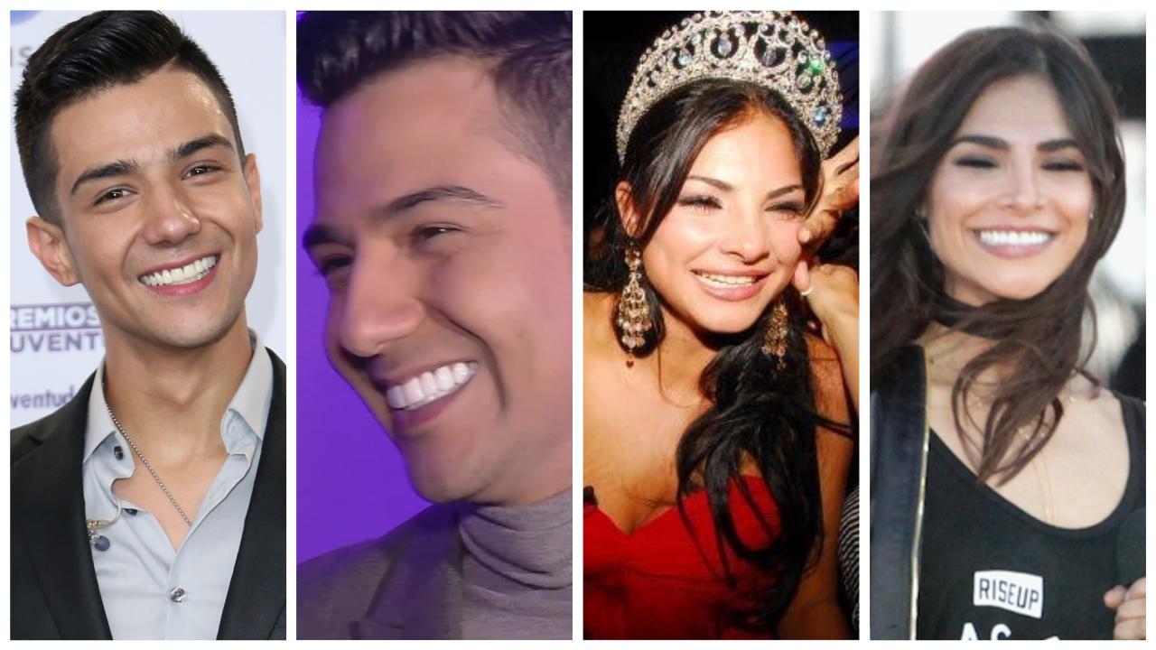 Luis Coronel no es el único: así les cambió la sonrisa a estos famosos cuando se arreglaron los dientes