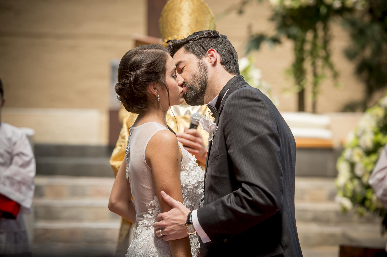 Detrás de cámaras en la boda de Maia y Federico