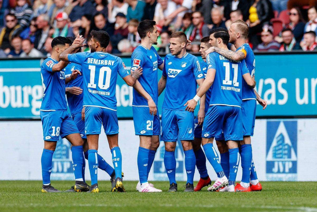 En fotos: Hoffenheim sueña con Europa luego de golear al Augsburg
