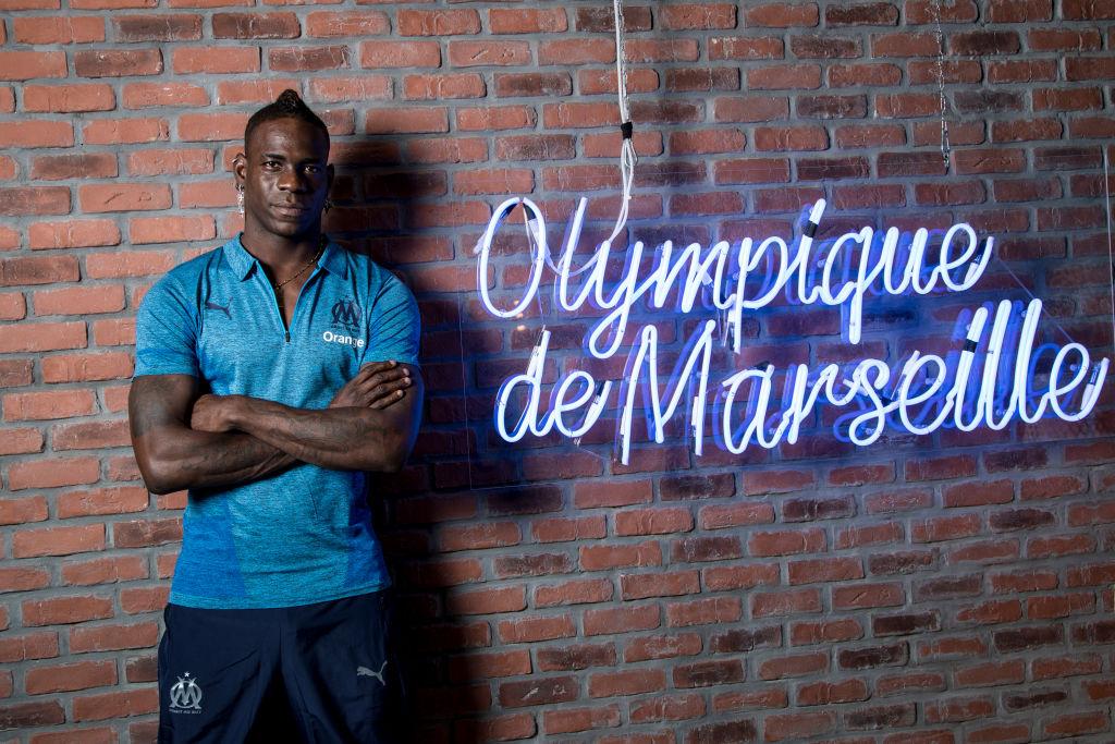 Las imágenes de la firma y llegada de Mario Balotelli al Olympique de Marsella