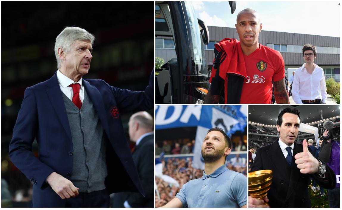 Henry, Vieira y más candidatos para reemplazar a Arsene Wenger en el banquillo del Arsenal