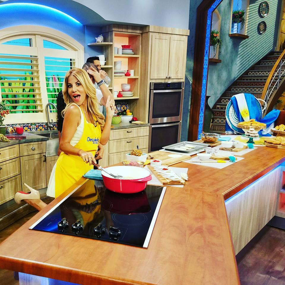 Roxy compartió su receta secreta en Despierta América