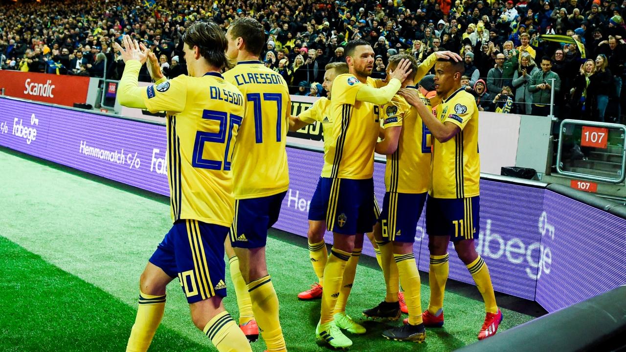 En fotos: Suecia se impuso por 2-1 a Rumanía en el inicio de las Eliminatorias a la Euro 2020