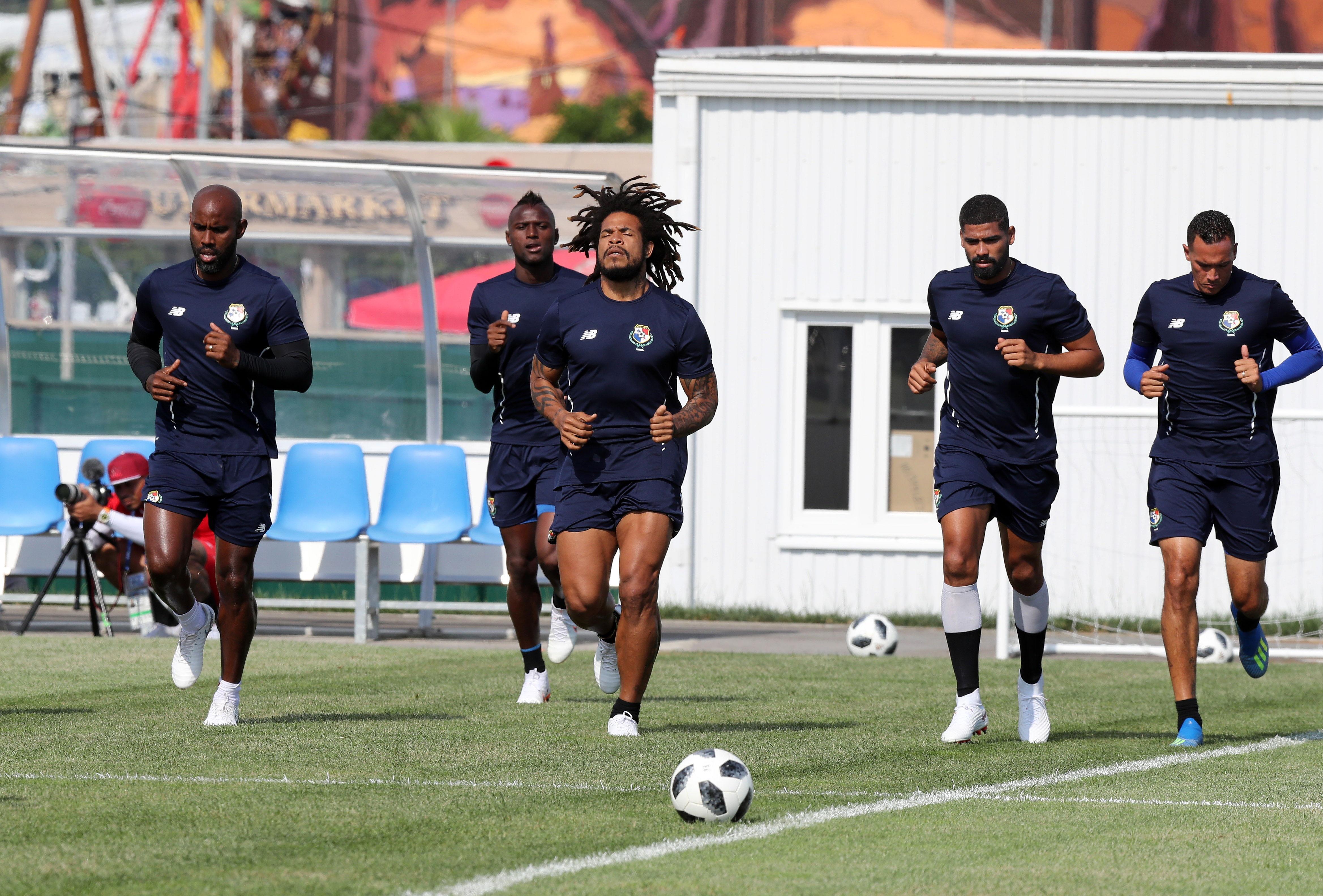 En fotos: Panamá preparada para su histórico debut ante Bélgica