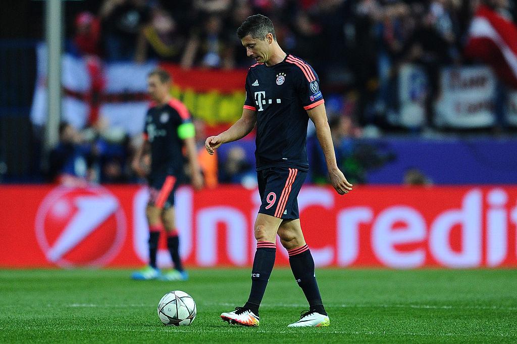 El Bayern a un paso de la eliminación