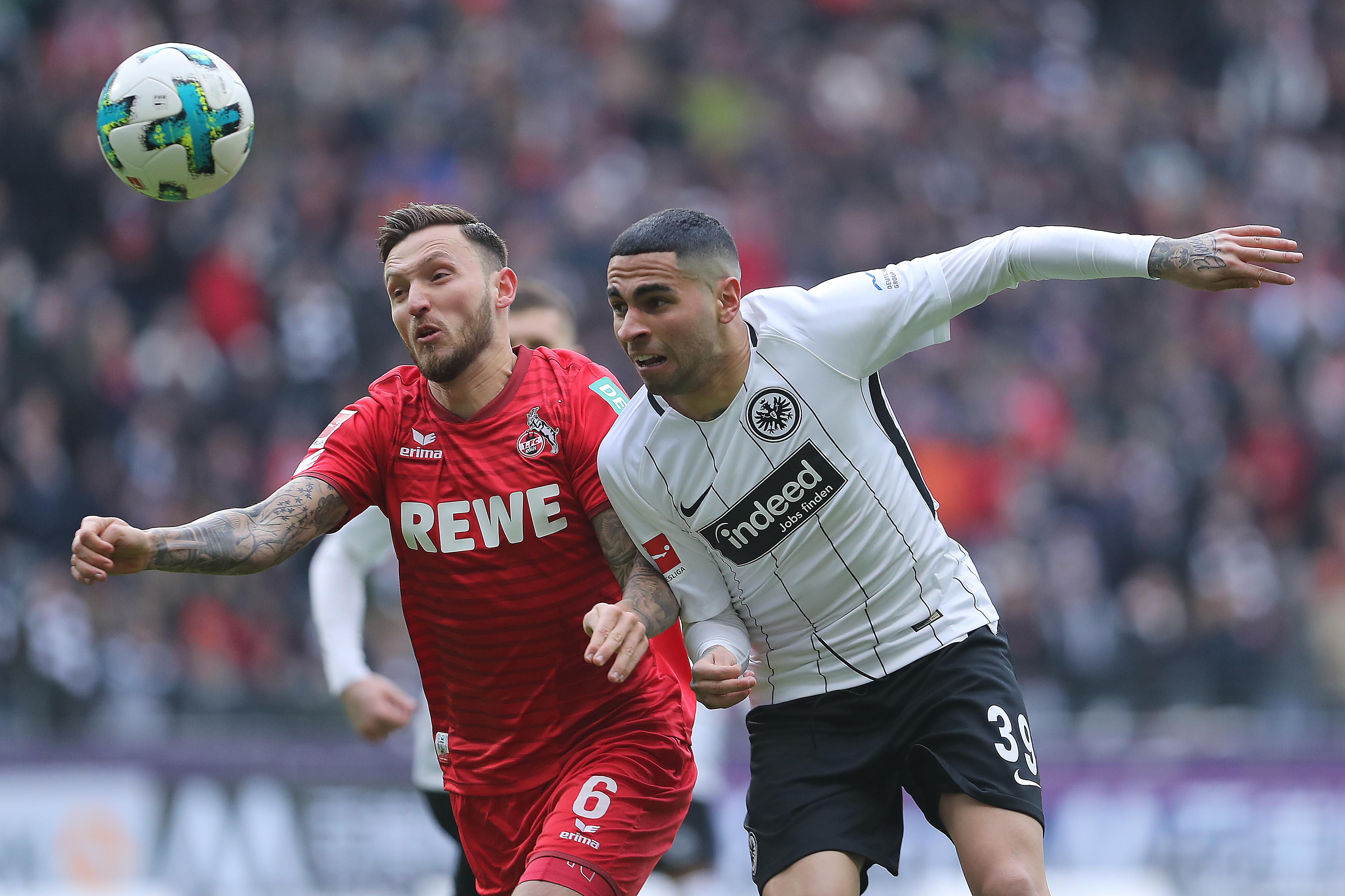 Sin Salcedo y Fabián, Eintracht goleó en casa al Koln
