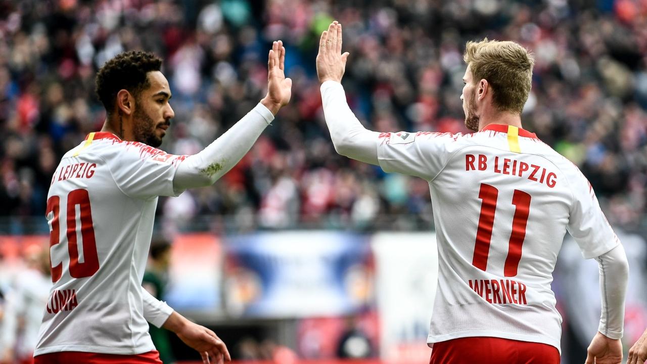 En fotos: Leipzig superó a Wolfsburgo y sigue firme en zona de Champions en la Bundesliga