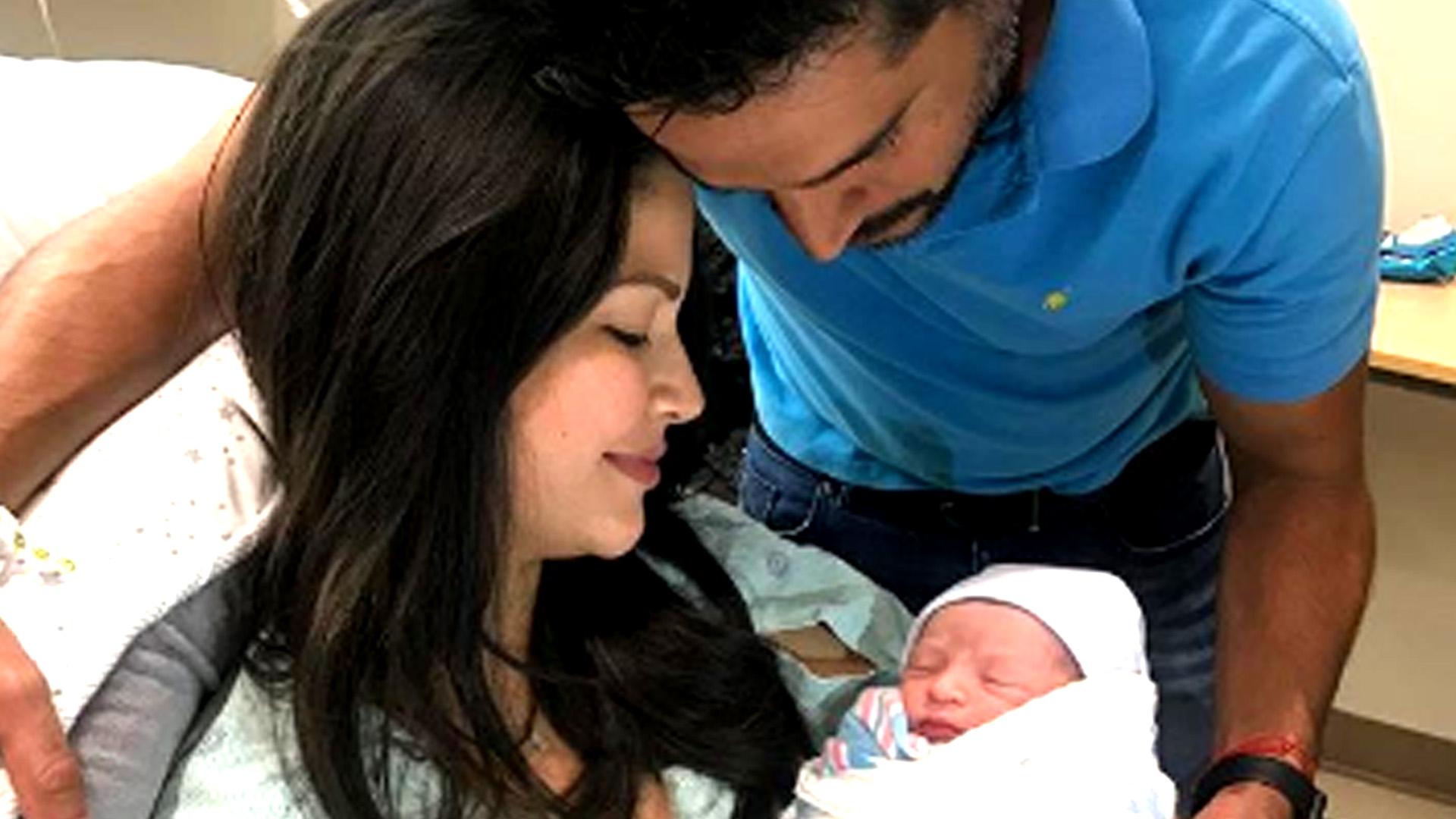 Ana Patricia Da A Luz A Su Segundo Hijo Un Bebé De Nombre Gael