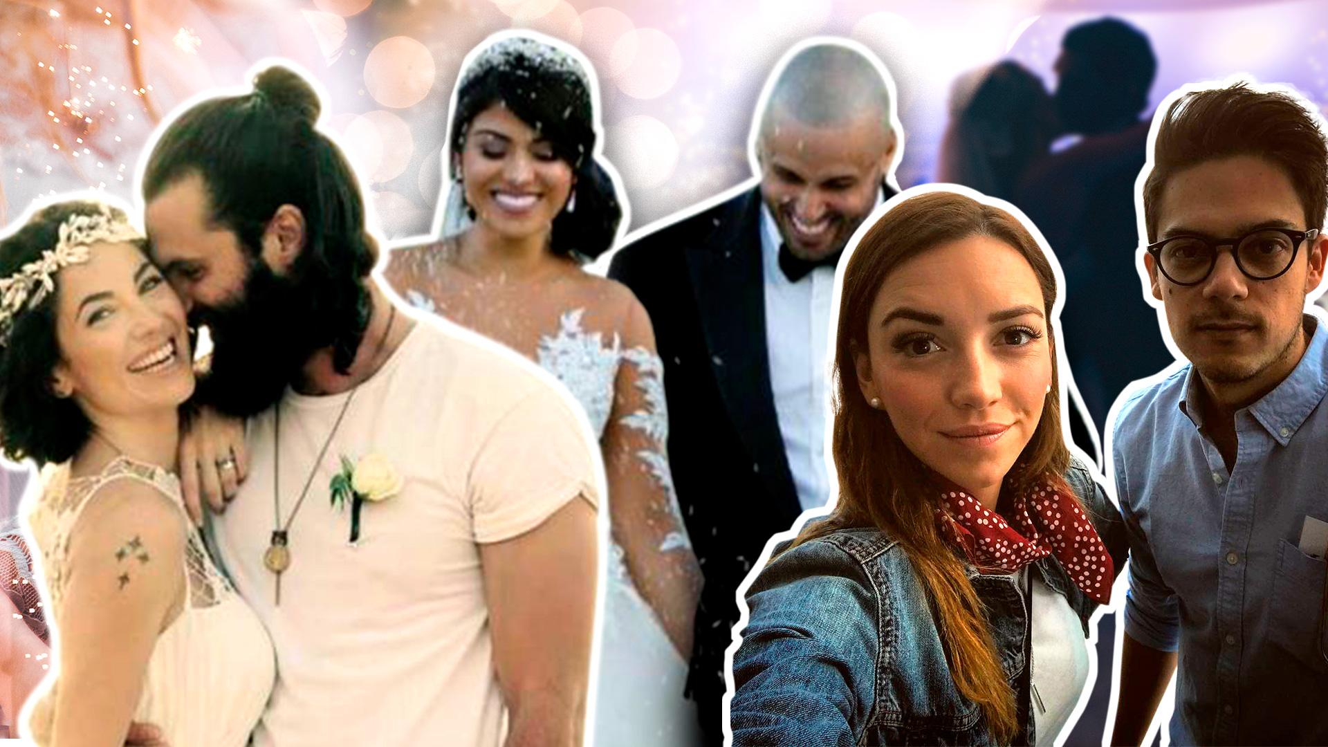 No duraron nada: estos famosos tuvieron matrimonios relámpago
