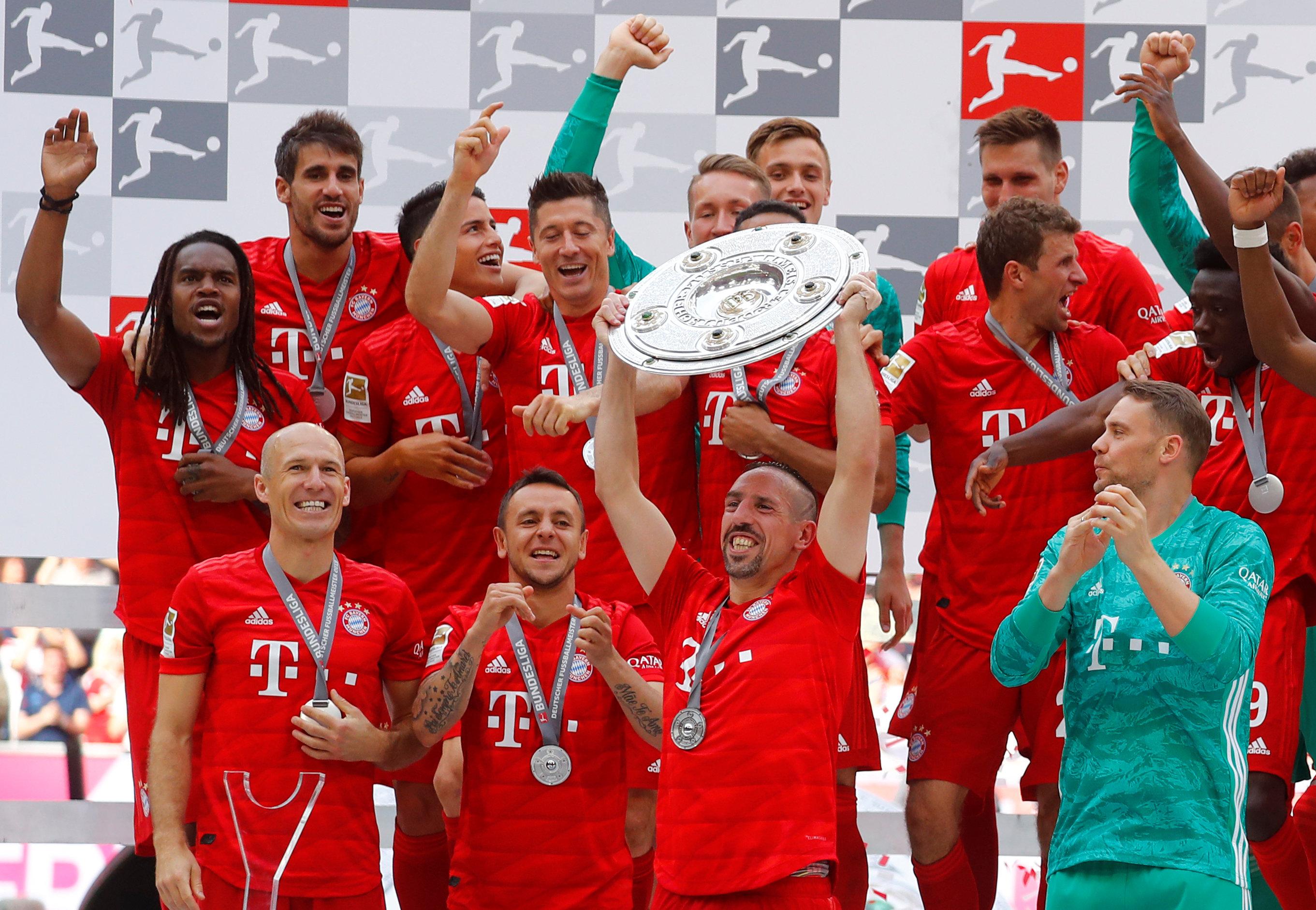 En fotos: Bayern Munich, campeón de Bundesliga con despedida emotiva de Ribery y Robben