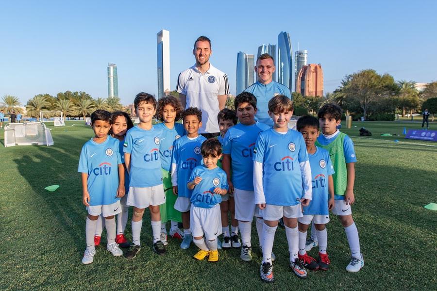 'Mini fútbol', partidos de golf y hasta la grabación de una publicidad para NYCFC en Abu Dhabi