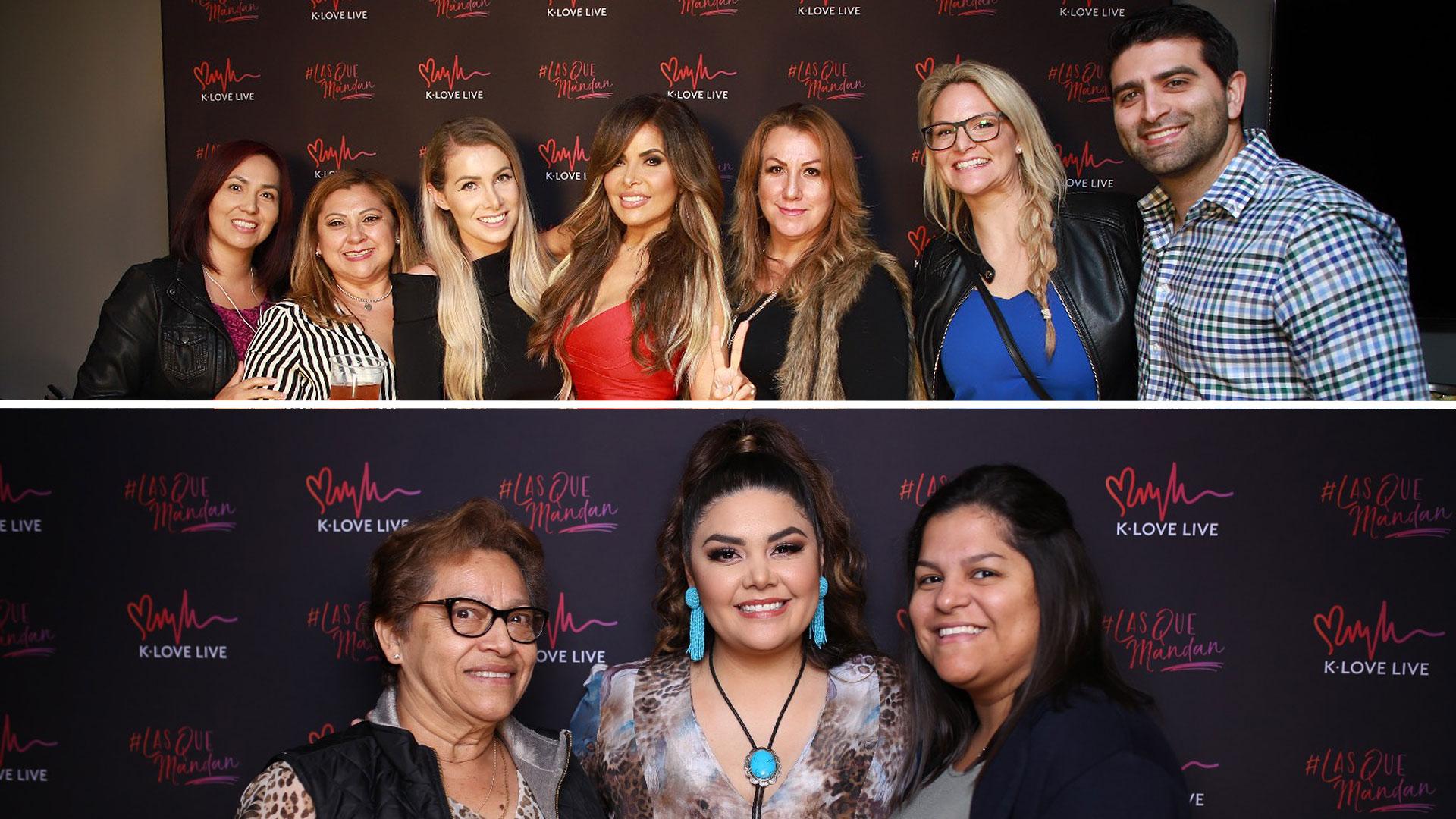 Ellos pudieron conocer a dos de #LasQueMandan: Gloria Trevi y Yuridia