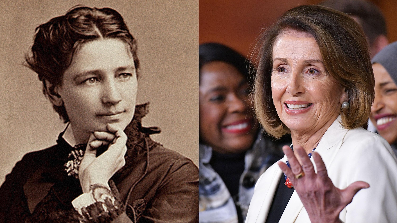 Las que vinieron antes de Nancy Pelosi: mujeres pioneras en la política de EEUU