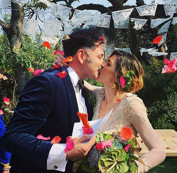 La boda de Irene Azuela y Quique Rangel de Café Tacvba
