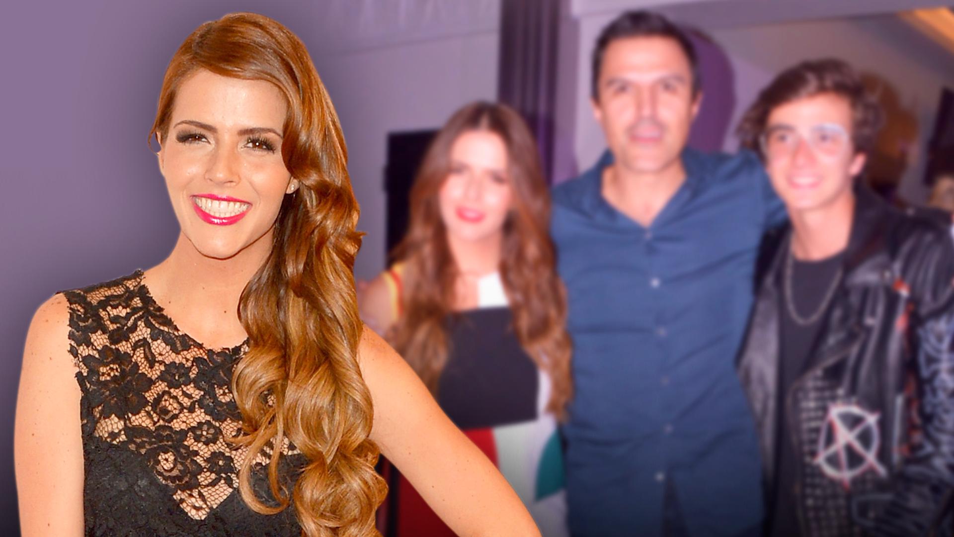 Claudia Álvarez no solo es feliz con Billy Rovzar, también con la ex de su esposo