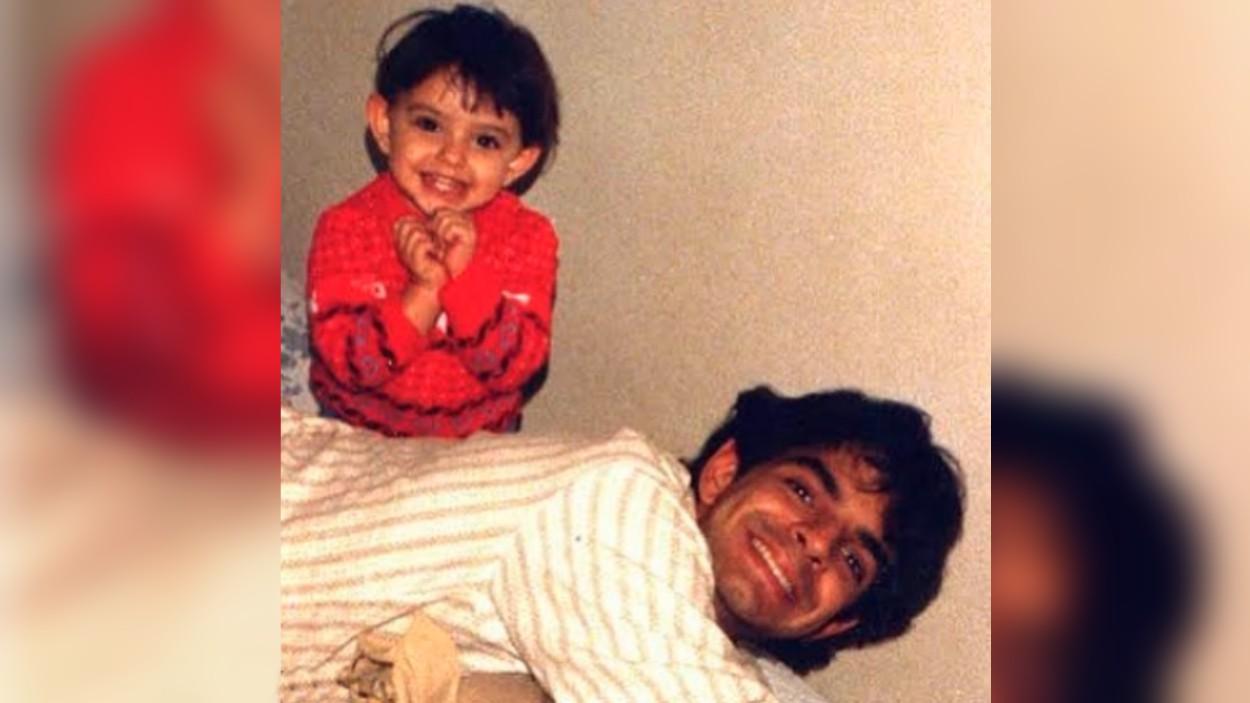 Con esta foto, Eugenio Derbez felicita a la persona que lo convirtió en padre por primera vez (hace 32 años)