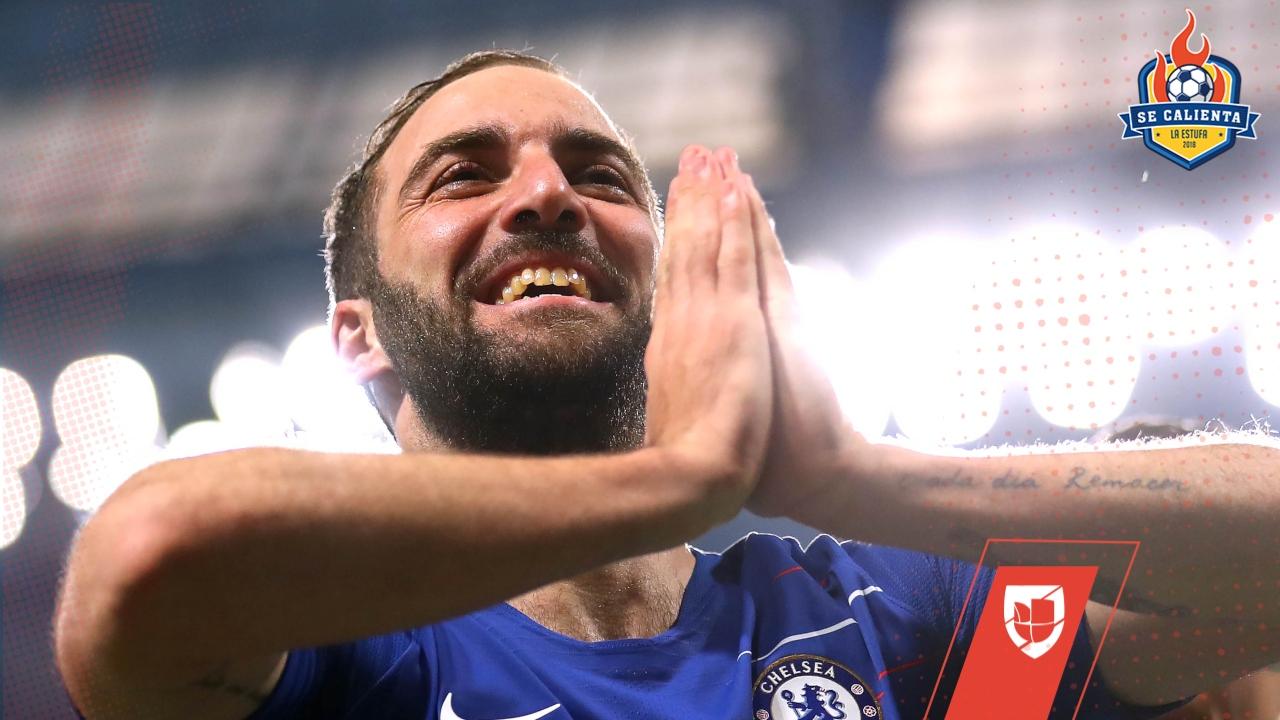 Rumores de Europa | La decisión del Chelsea sobre Higuaín, Jovic al Madrid por una alta cifra y más
