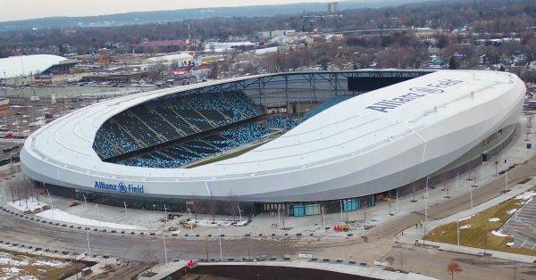 En cuenta regresiva: a un mes de su inauguración el Allianz Field recibe a 'los Loons'
