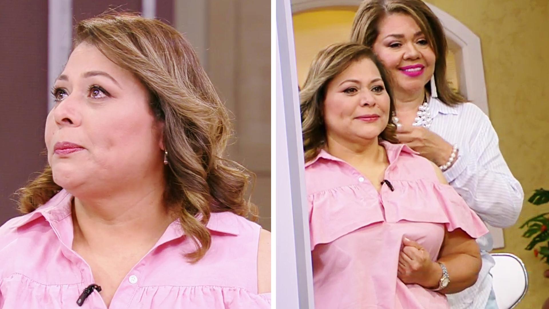 Volvimos a hacer la terapia frente al espejo para ayudar a una mujer  víctima de violencia doméstica | Shows Despierta América | Univision