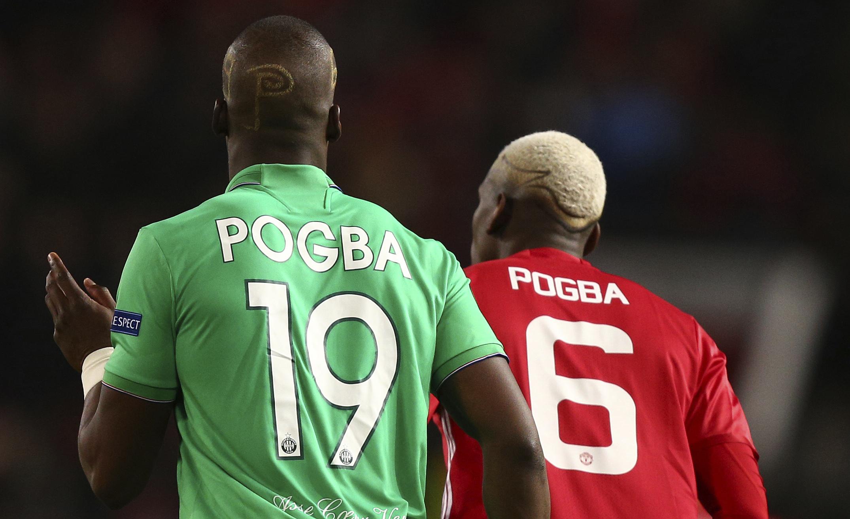 En fotos: los hermanos Pogba se enfrentaron por primera vez en el Saint-Etienne-United
