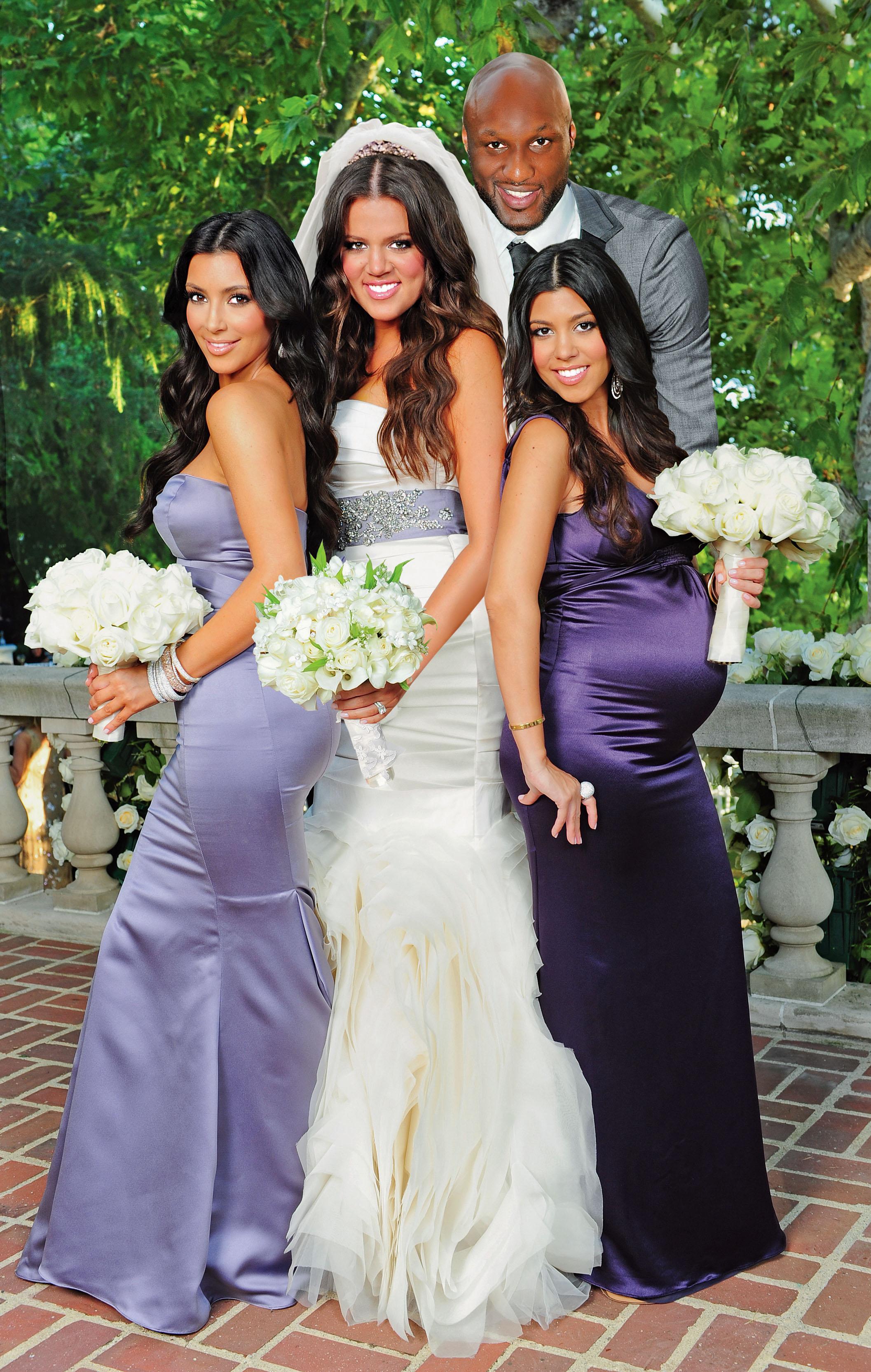 Vestido de novia de khloe kardashian