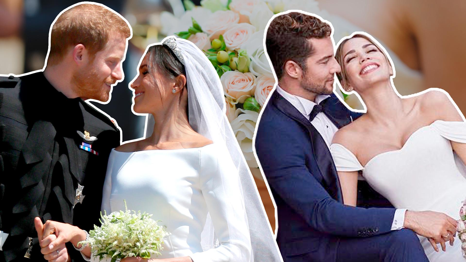 Estos 13 famosos se casaron en 2018: las bodas que dieron que hablar (aunque algunas no las vimos)