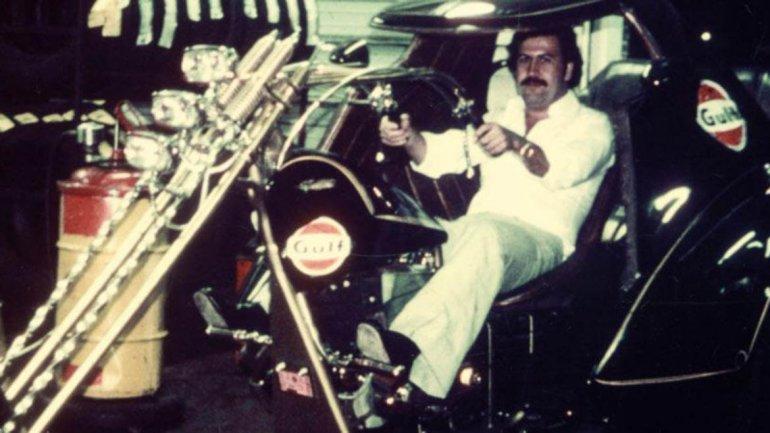 Conoce la peculiar colección de autos de Pablo Escobar
