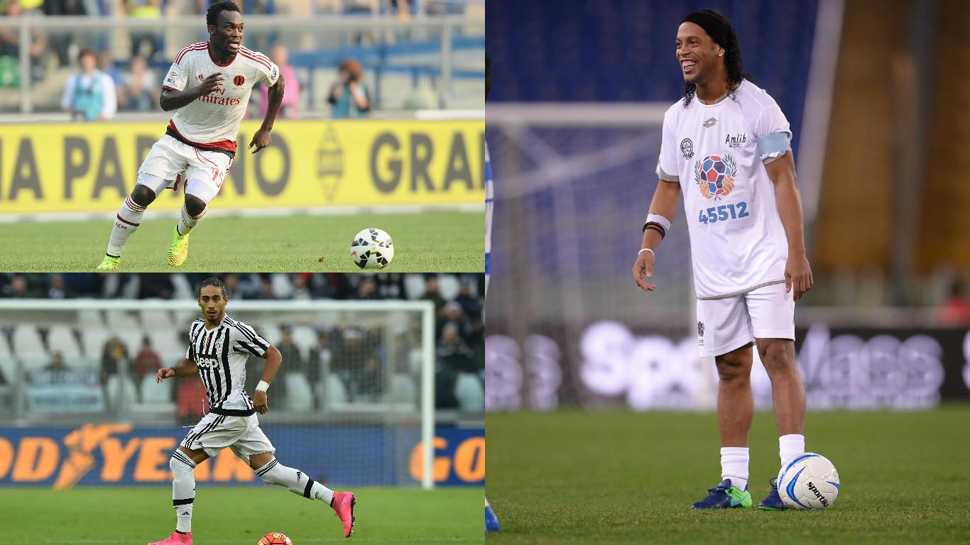 Futbolistas de talla mundial que no se han retirado pero están sin equipo