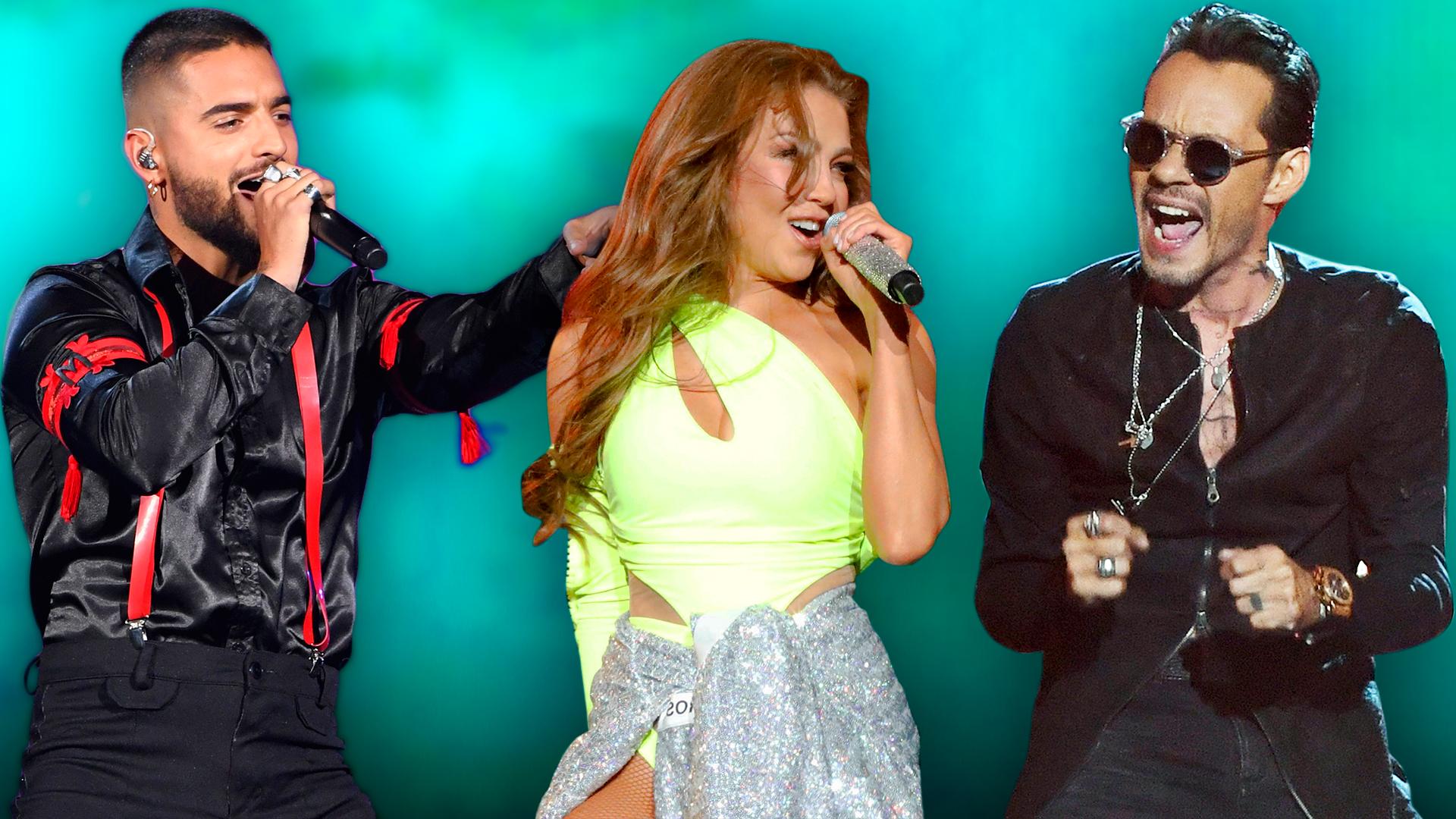 """Thalía quiere """"formar un alboroto"""" y Maluma presume un logro: las reacciones de los nominados a Premios Juventud"""