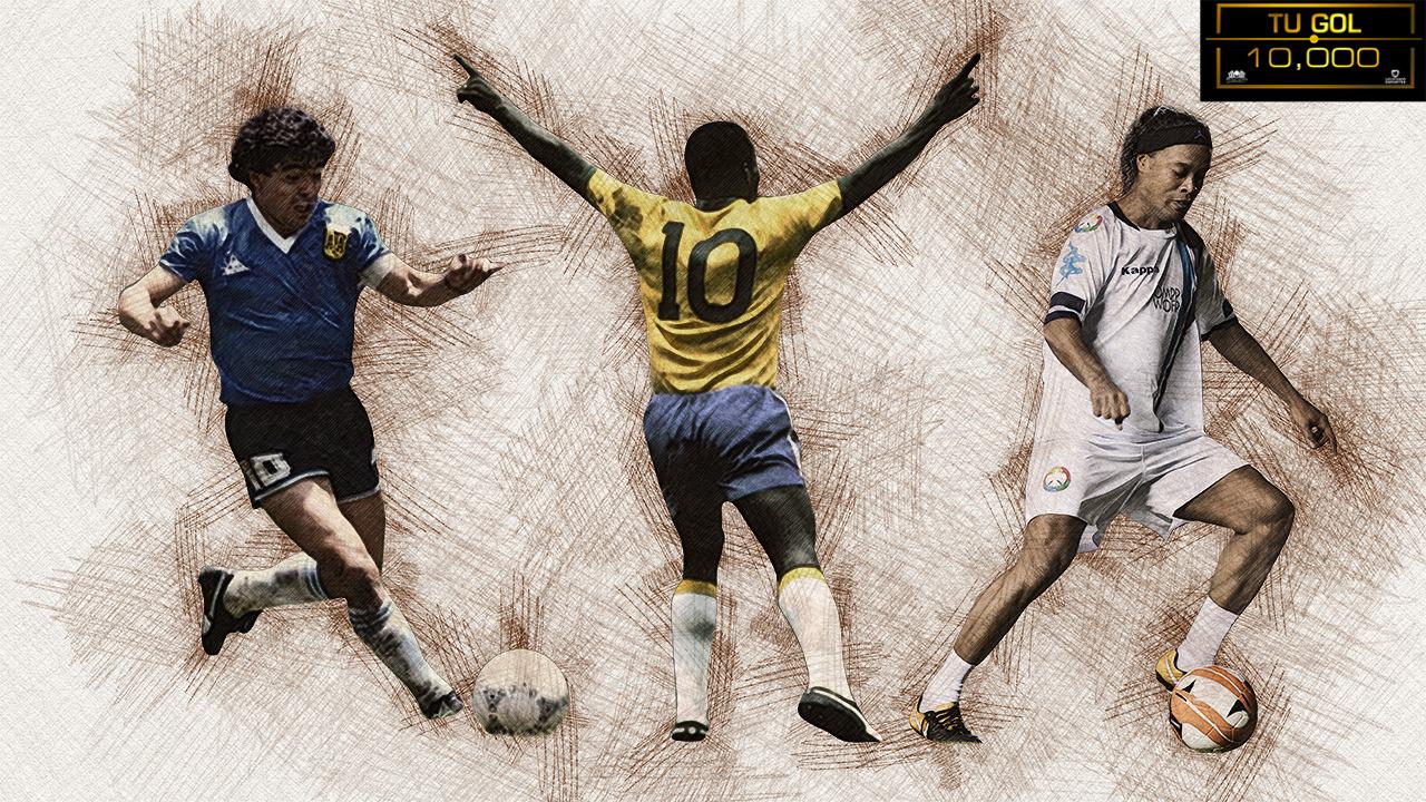 De Pelé y hasta Ronaldinho: las estrellas que contribuyeron