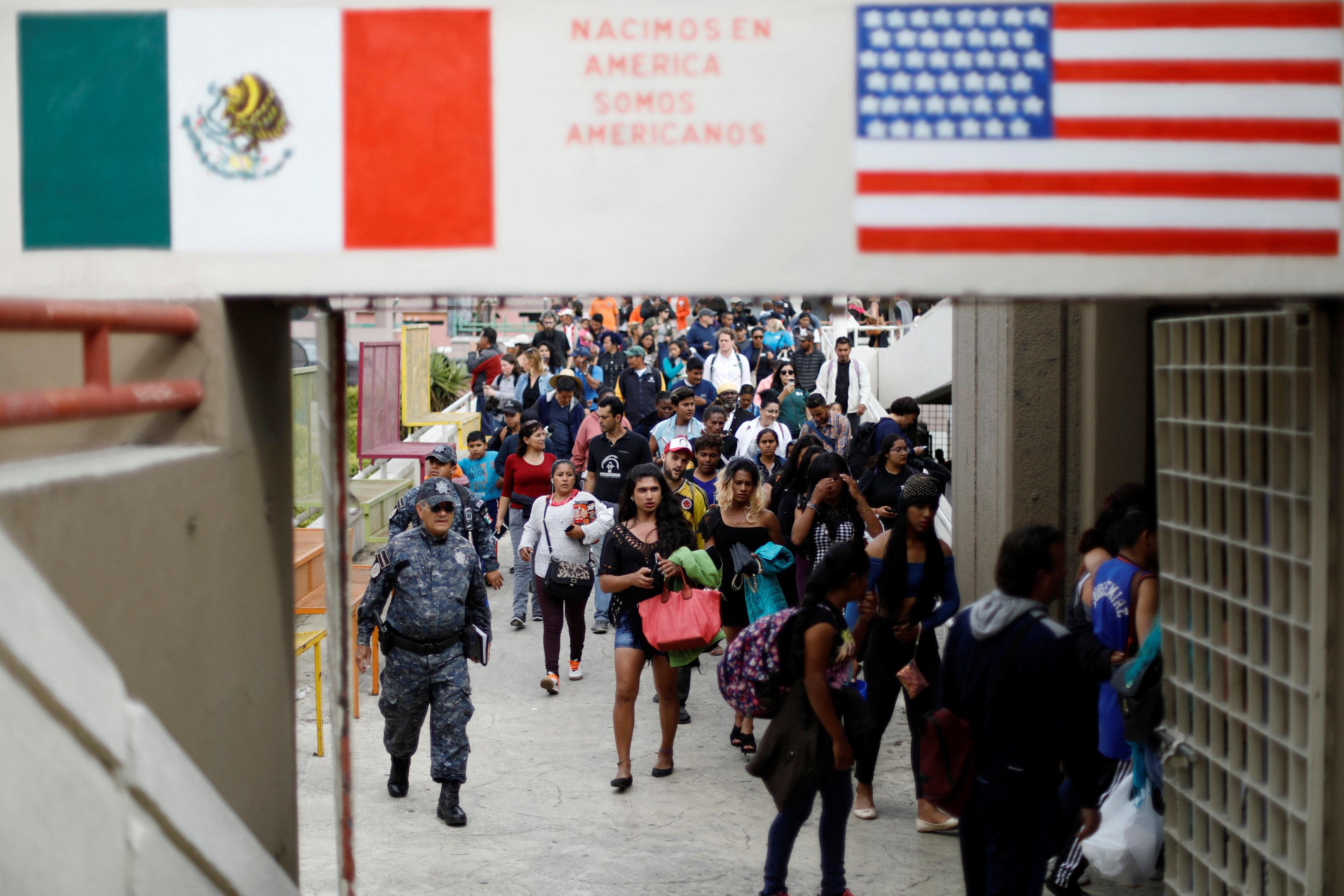 Resultado de imagen para piden asilo en estados unidos