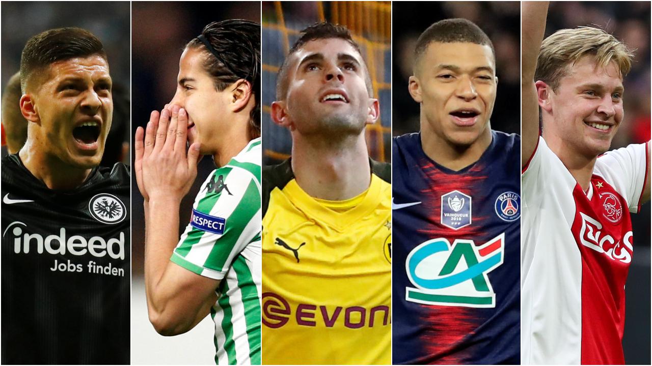 Lainez y Pulisic están entre los mejores futbolistas Sub-21 del mundo