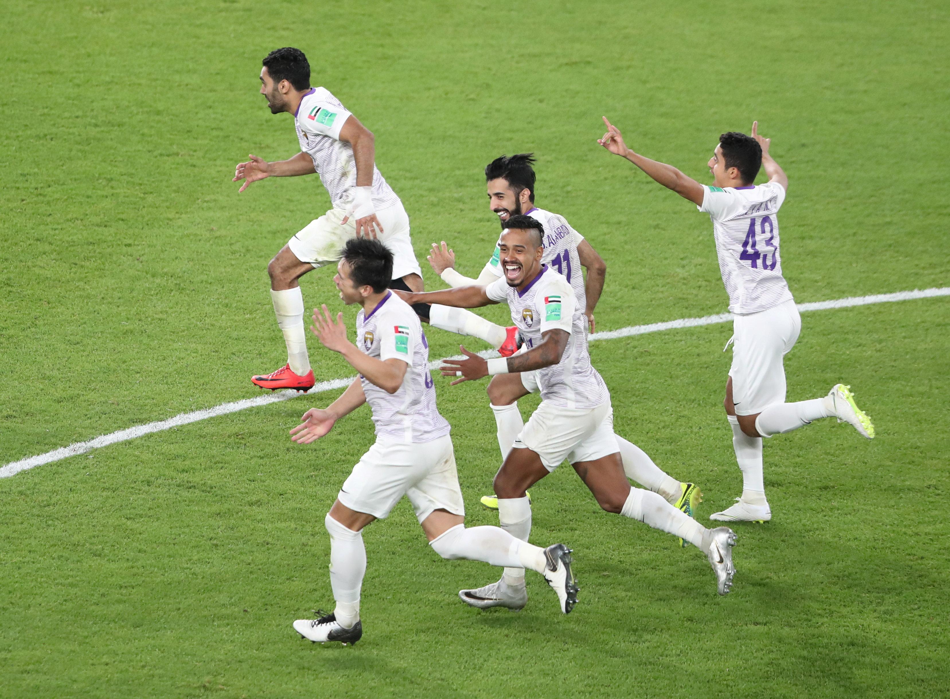 En fotos: intenso comienzo con remontada de Al Ain para clasificar en el Mundial de Clubes