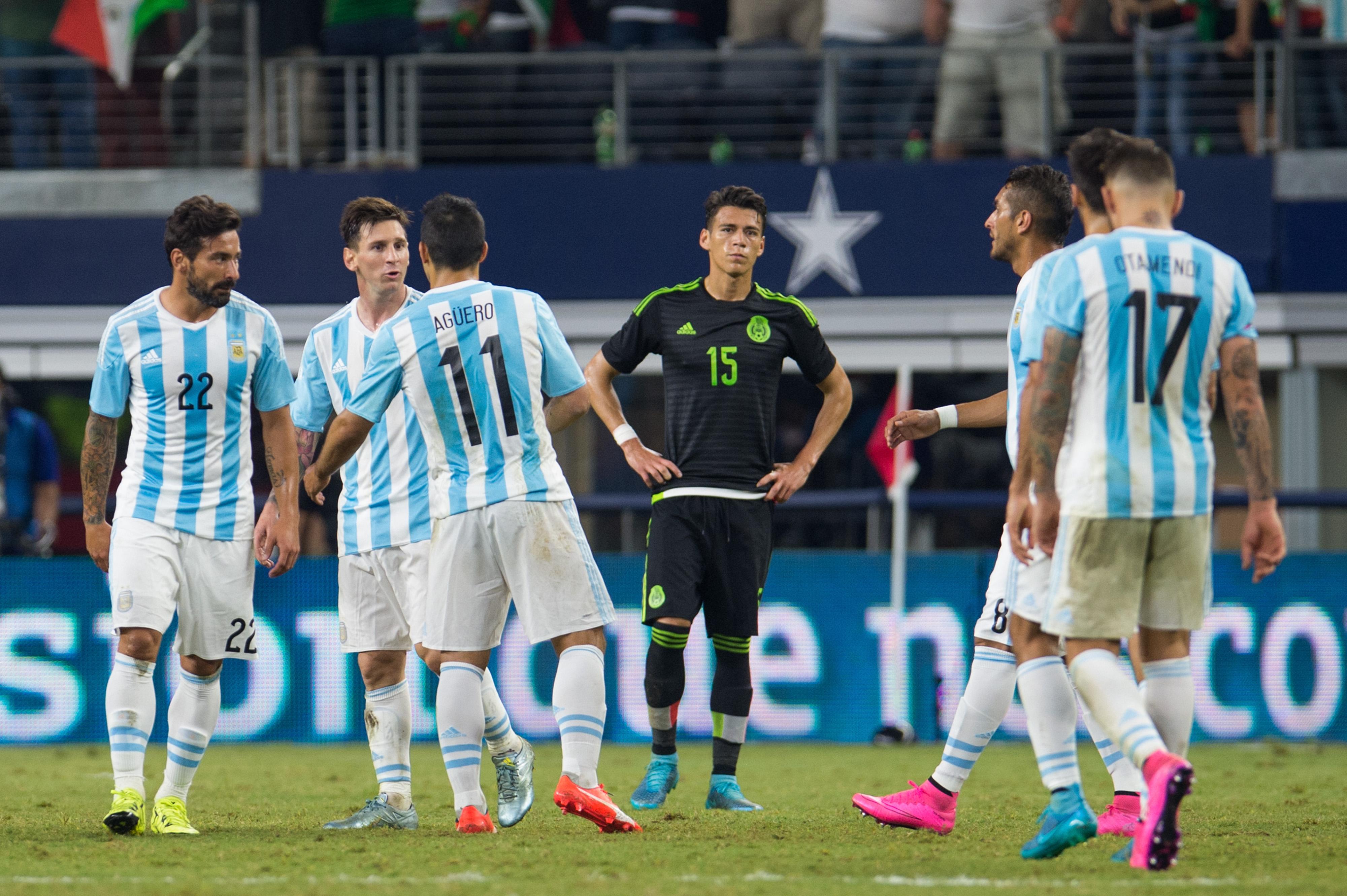 Calificamos el desempeño de México y Argentina en Dallas