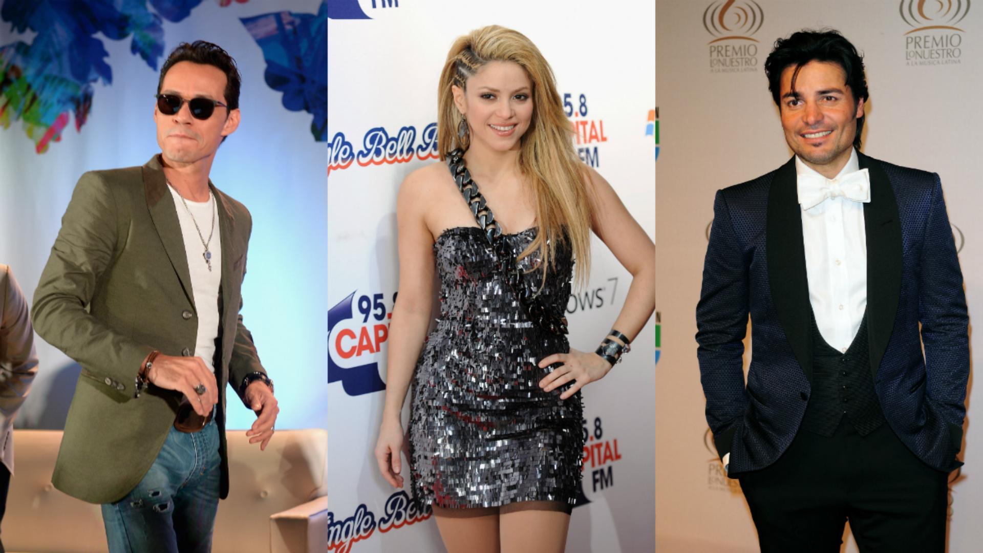 Shakira, Marc Anthony y otros cantantes que han perdido la voz