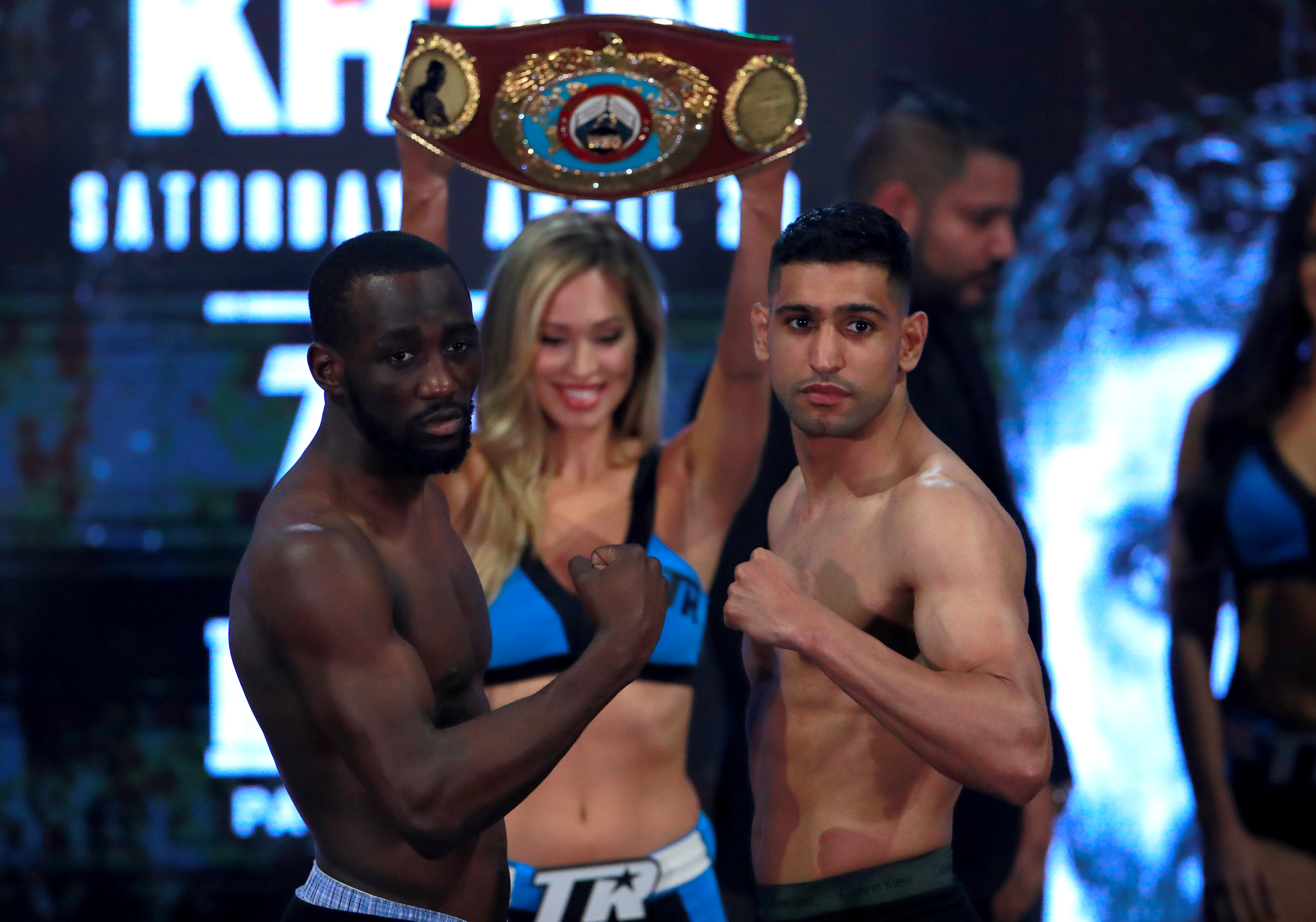 Crawford-Khan face off in need to have fight