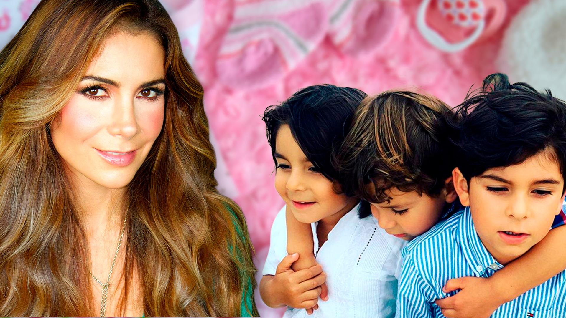 Patty Manterola y su esposo acordaron no tener más hijos (aunque se quedaron con ganas de una niña)