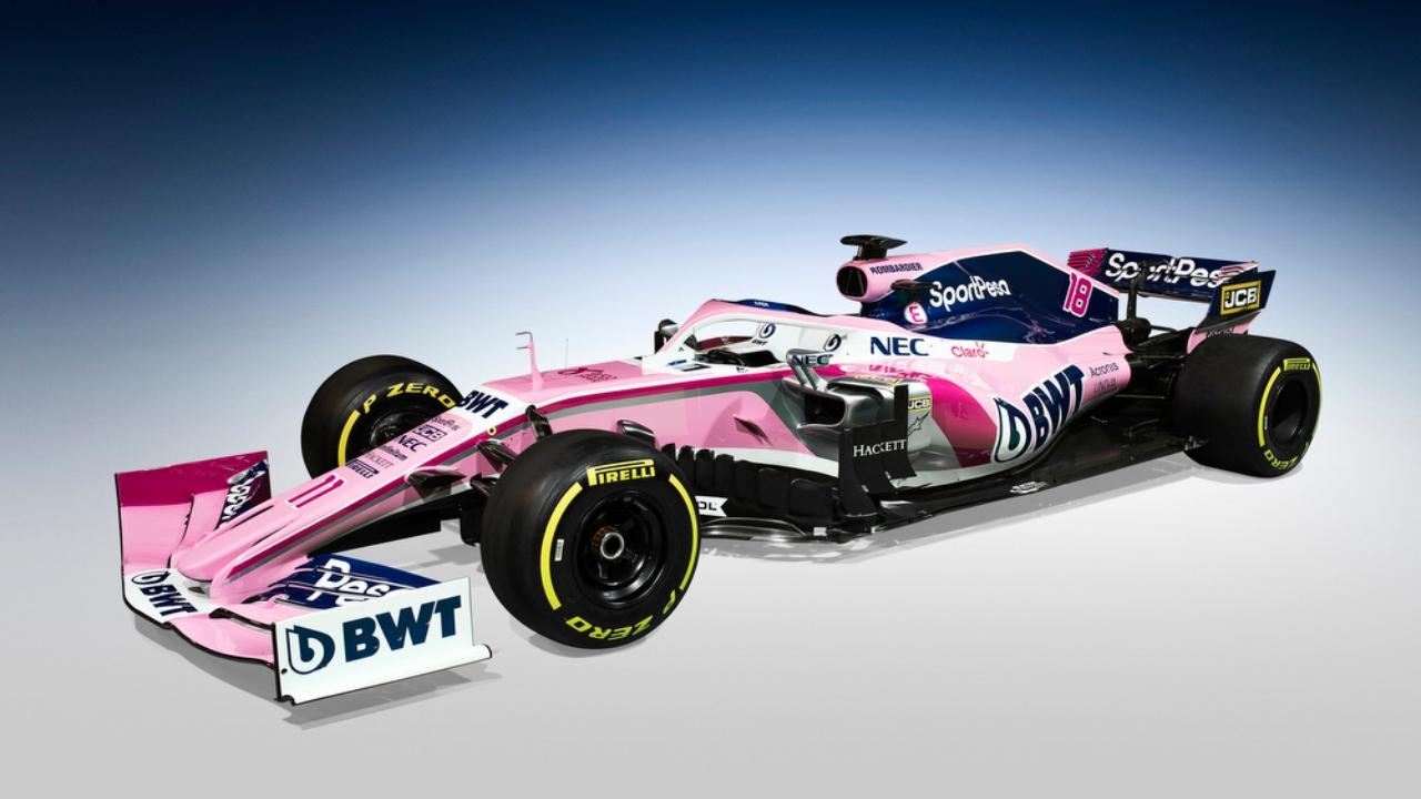 Desde todos los ángulos, el coche que piloteará 'Checo' Pérez en la nueva temporada