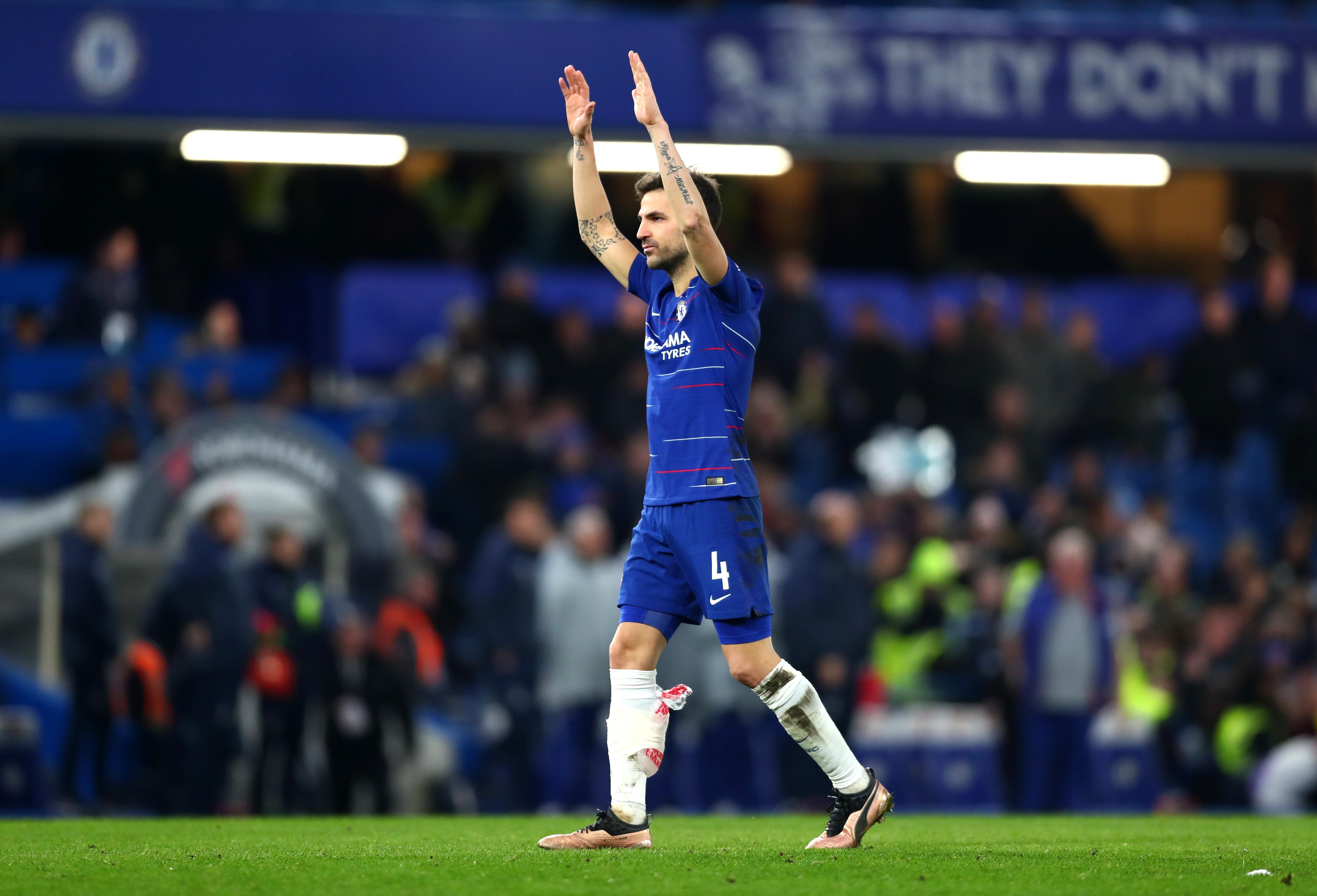 En fotos: aunque falló penal, Fábregas se despidió del Chelsea con triunfo copero
