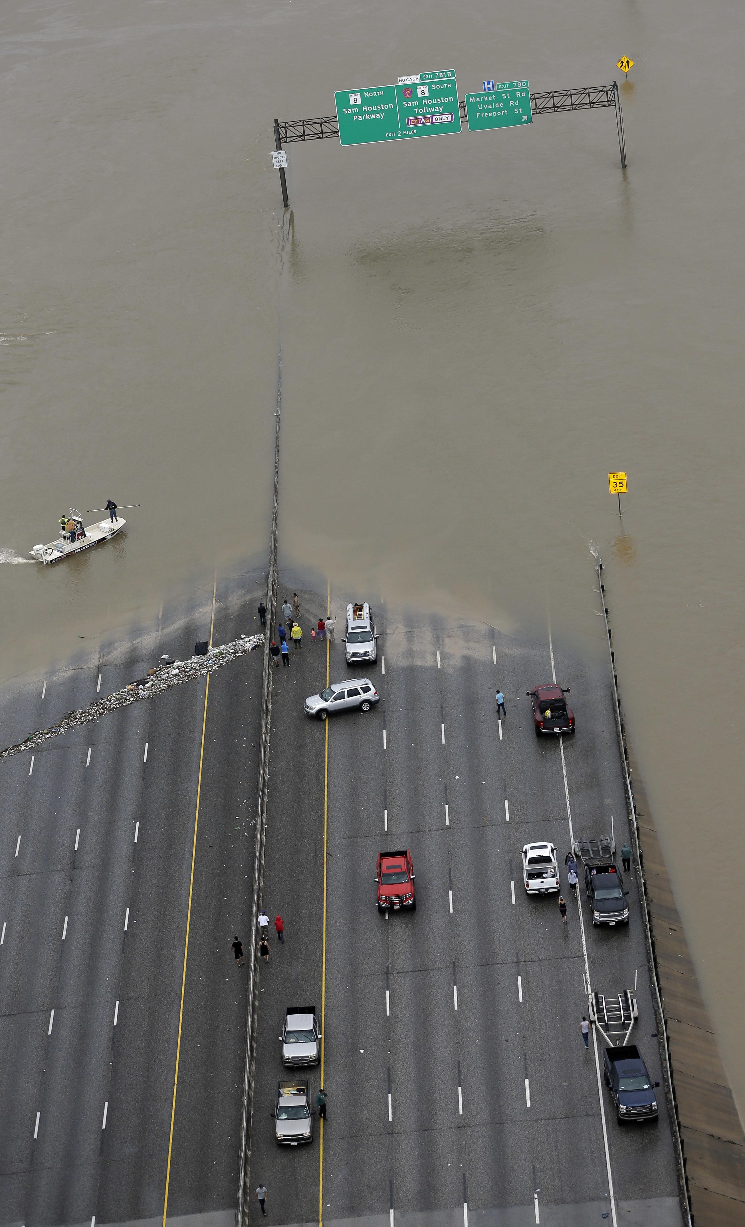 Fotos Aereas La Destruccion De Harvey A Su Paso Por Texas Noticias Univision Fenomenos Naturales Univision