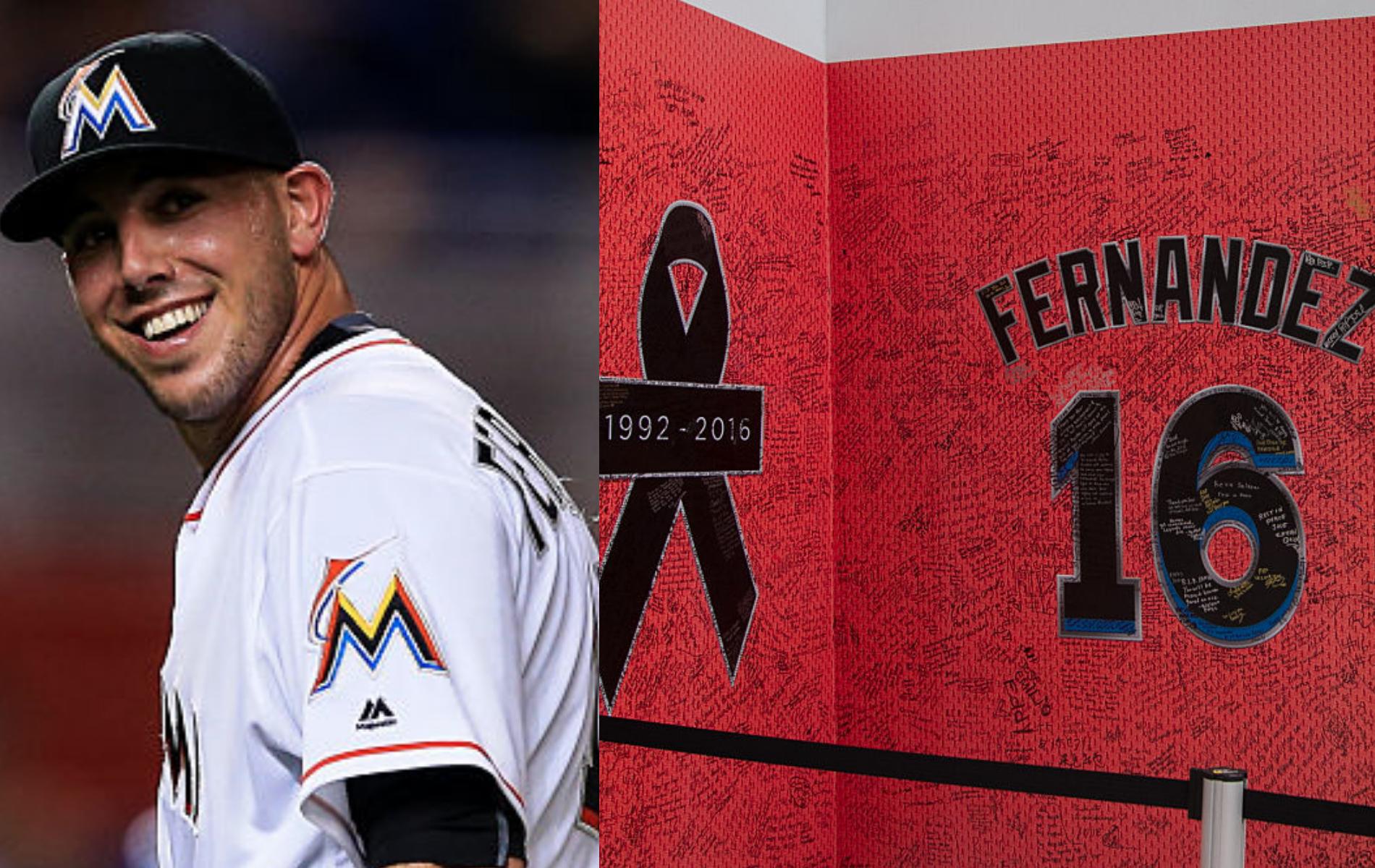 El recuerdo de José Fernández, tras dos años de la triste muerte del ídolo de Marlins