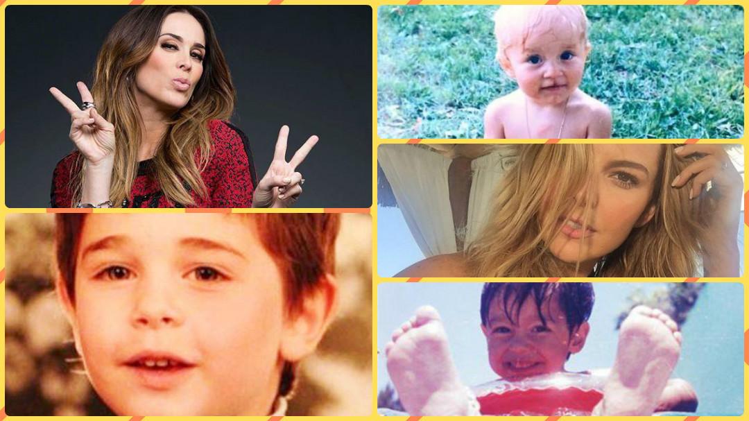 Descubre cómo se veían los famosos de telenovela en su infancia