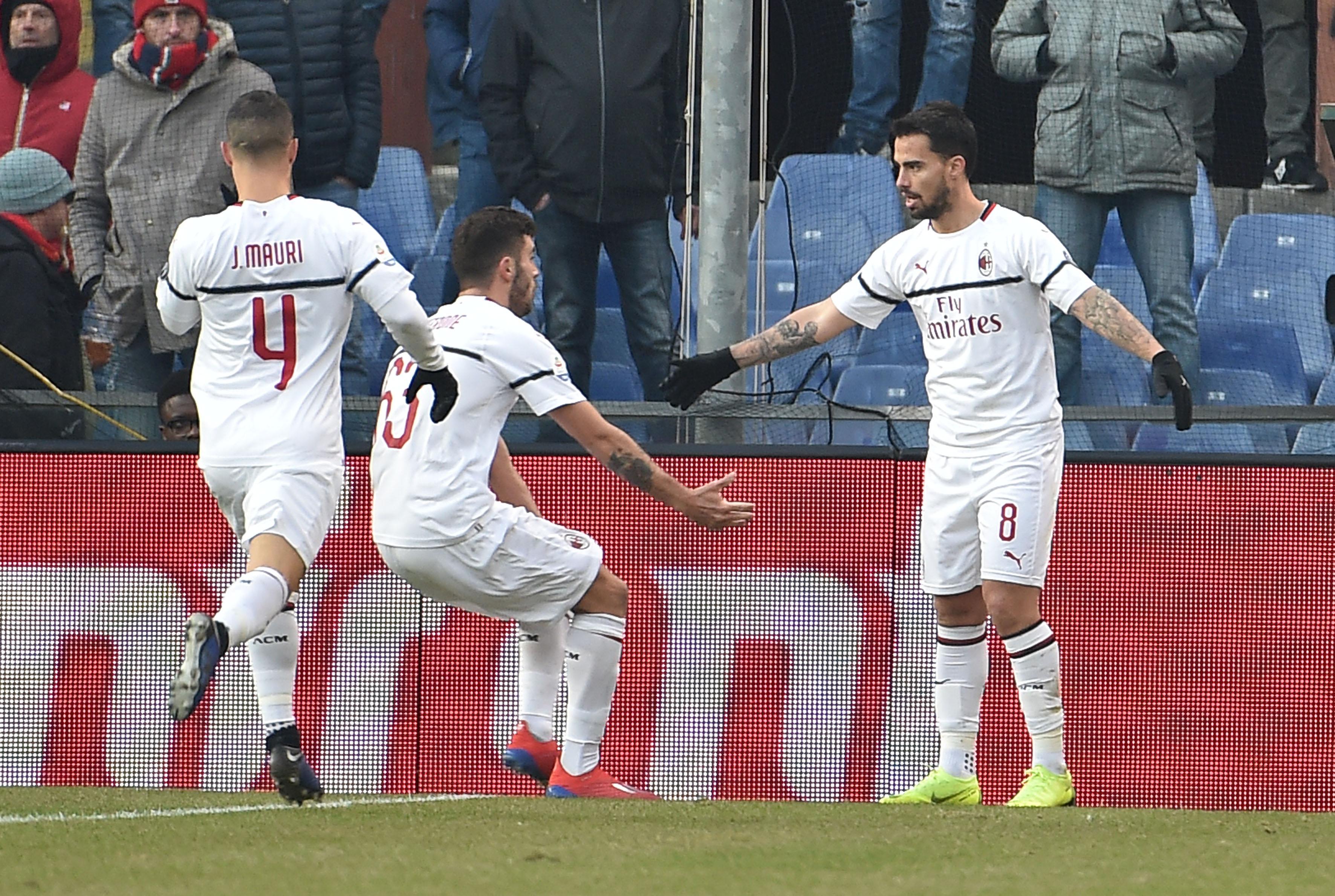 En fotos: sin 'Pipita' Higuaín, Milán se mete en zona de Champions con triunfo en Serie A