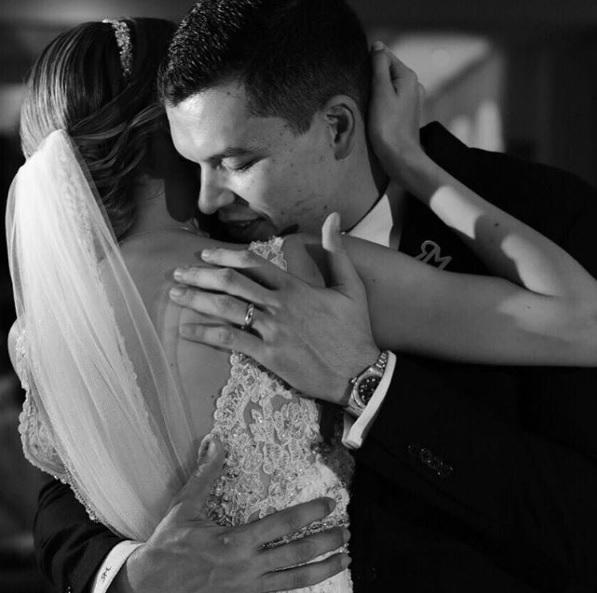 Las fotos más románticas de la boda del 'Penco', Leandro Ríos, con Ely Murrieta