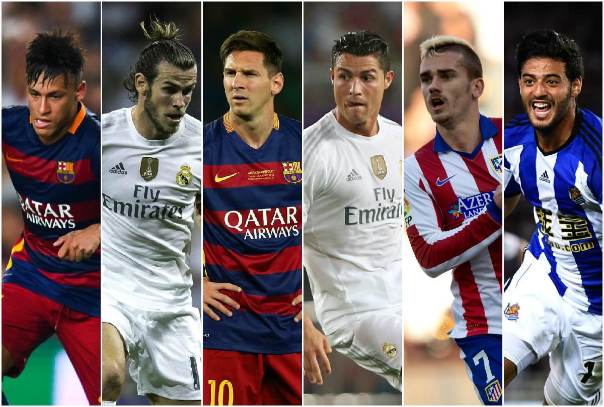 Las Figuras de la Liga española 2015 / 2016